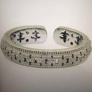 Judith Ripka Panther Link Bracelet